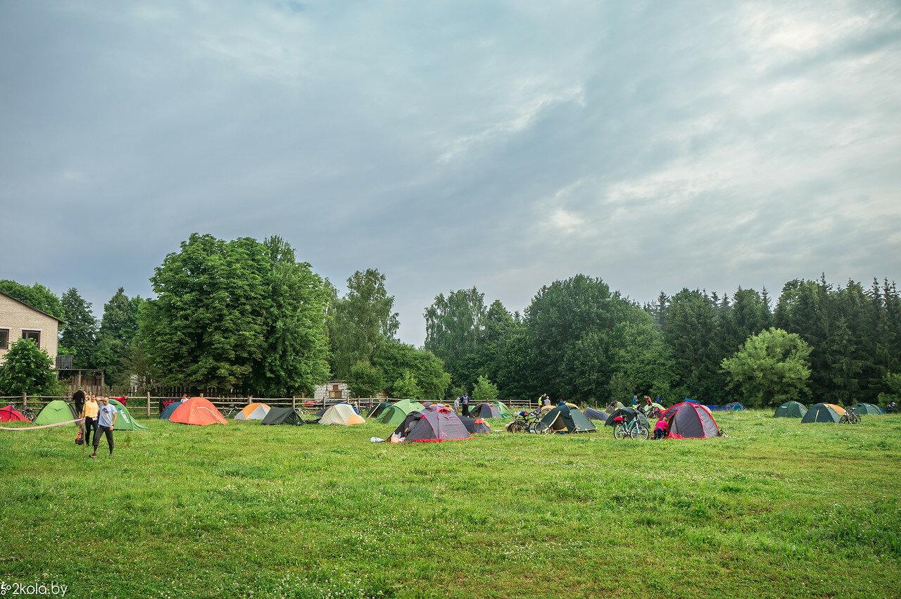 Палаточный лагерь в БЛ AZAR 2017